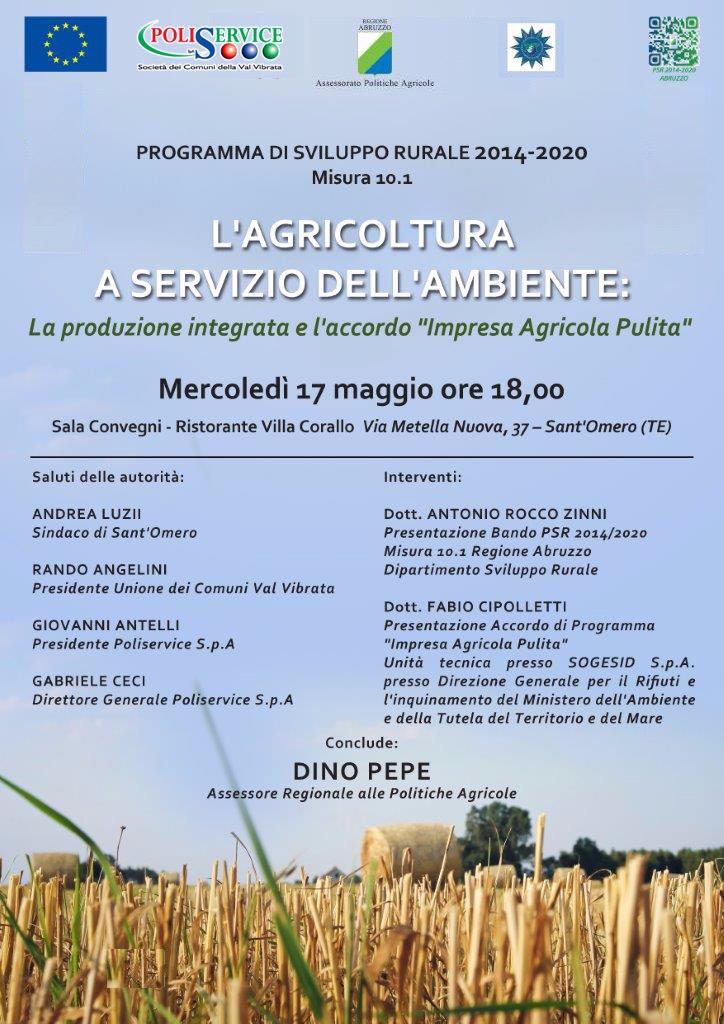 AGRICOLTURA A SERVIZIO DELL'AMBIENTE