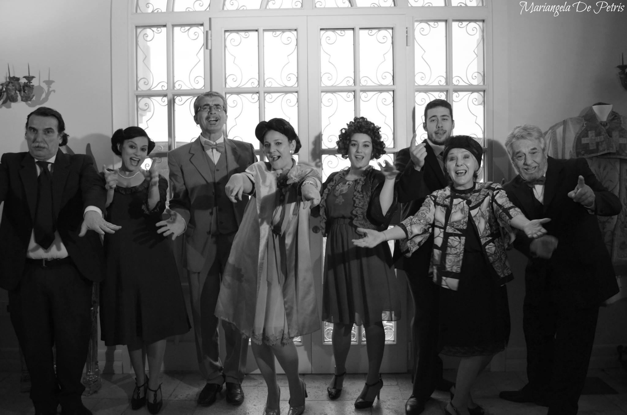 """BELLANTESTATE – COMPAGNIA di TEATRO DIALETTALE """"LE MUSE"""" – VILLA RASICCI 12 AGOSTO ORE 21:00"""