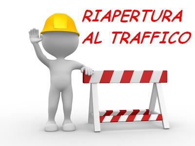 """RIAPERTURA DELLA CIRCOLAZIONE STRADALE SULLA S.P. 13 """"RIPATTONI"""""""