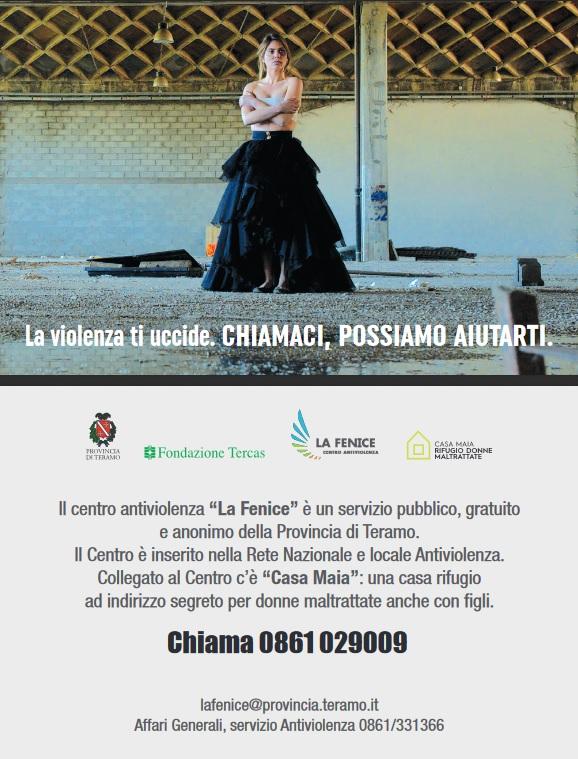 """Centro antiviolenza """"La Fenice"""" – campagna di comunicazione"""